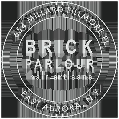 Brick Parlour Hair Salon 654 Millard Fillmore Pl. East Aurora, N.Y.
